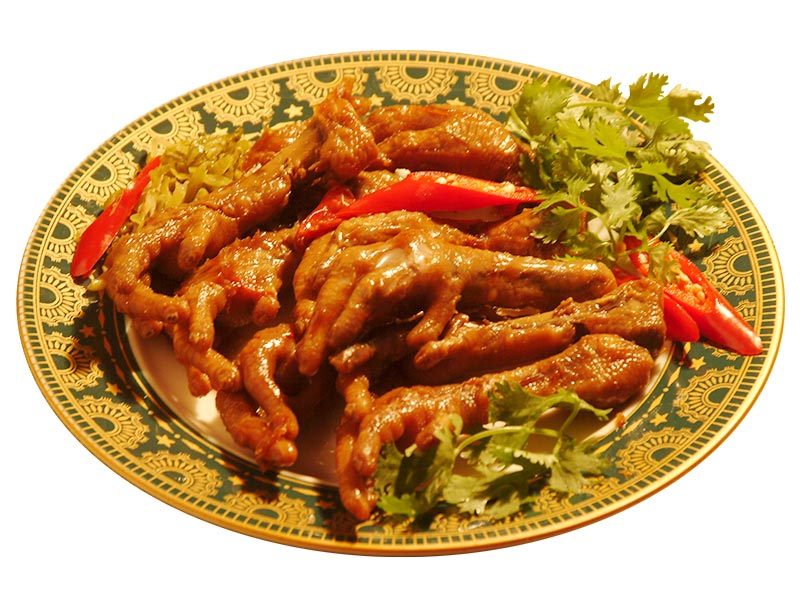 Chicken Feet Aspic